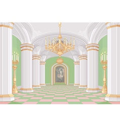 Palace Hall vector image
