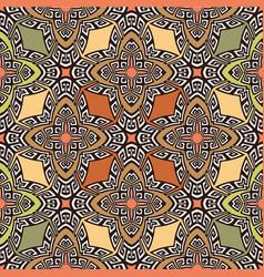 ethnic style ornamental greek key meander vector image