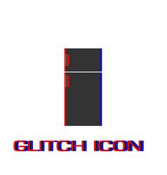 fridge icon flat vector image