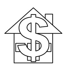 House for money vector