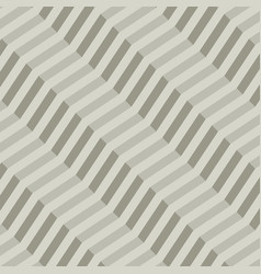 retro geometric diagonal zigzag seamless pattern vector image
