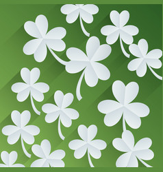 Shamrock or clover icon image vector