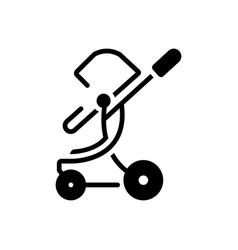 Toddler rocker vector