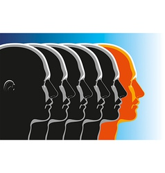 Leadership Winner vector image vector image
