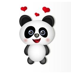 Very cute Panda vector image