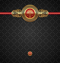 decorative luxury background vector image