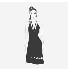 FashionWoman5 vector image