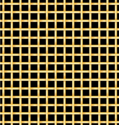 Golden bars on a black background vector image
