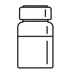 liquid injection icon outline style vector image