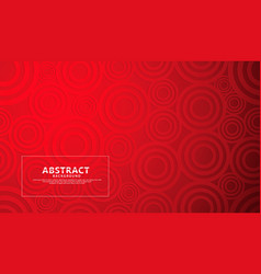 Red modern geometric shape abstract background vector