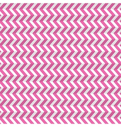 Seamless Abstract Pink Toothed Zig Zag Paper vector image