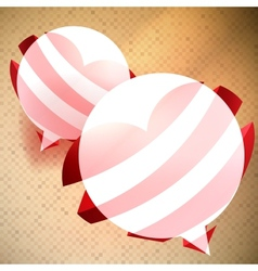 alentines Day background vector image vector image