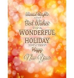Christmas typography EPS 10 vector image