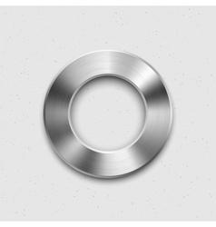 Metallic Volume Button Icon vector image vector image