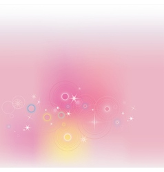 Pink fantasy background vector image vector image