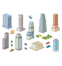 3D kit metropolis vector