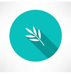 Branch and leaves vector