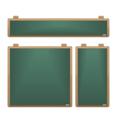 Chalkboard Set vector