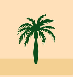 Date palm vector