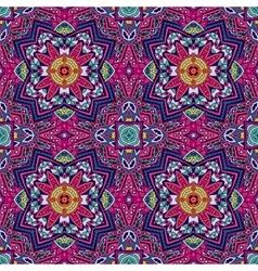 Ethnic tribal seamless colorful geometric print vector