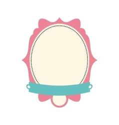 frame icon Label design graphic vector image