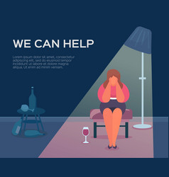 People health psychologist we can help vector