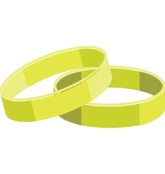 rings color set 01 vector image vector image