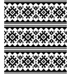 winter or christmas scandinavian seamless pattern vector image