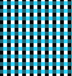 Seamless geometric gingham pattern Abstract vector image