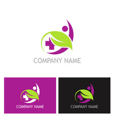 beauty cosmetic care logo vector image