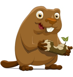 beaver vector image