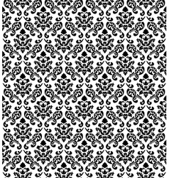 Damask seamless pattern vector image