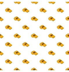 Whistle of refere pattern cartoon style vector