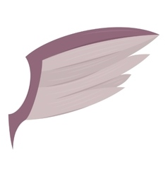 Wing icon cartoon style vector
