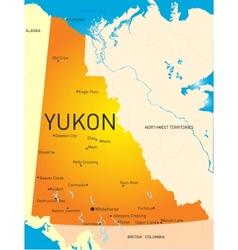 Yukon province vector