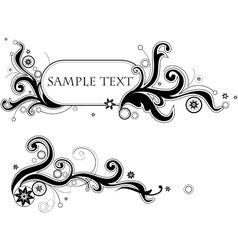 Graphic frame vector image