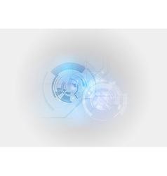 abstract tech light blue vector image