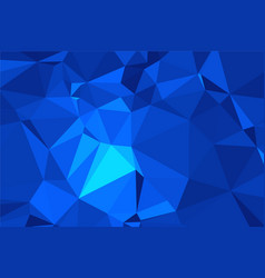 Abstract textured blue polygonal background low vector