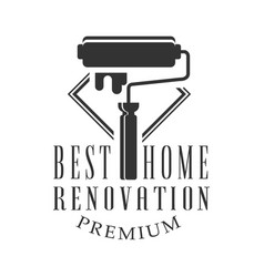 best premium home repair and renovation service vector image