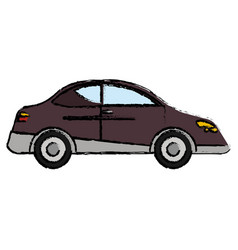 Car transport family auto vector