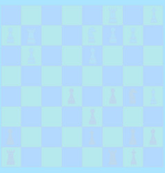 Chess poster chess background vector