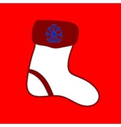 Christmas sock seamless christmas pattern vector