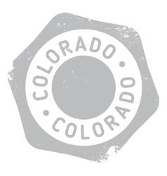 Colorado stamp rubber grunge vector