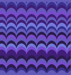 ikat wave lilac seamless pattern vector image
