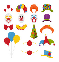 party birthday or 1th april - fool s day vector image