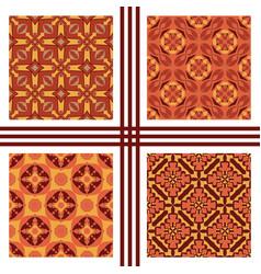 Seamless texture collection vector