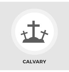 Calvary flat icon vector image vector image