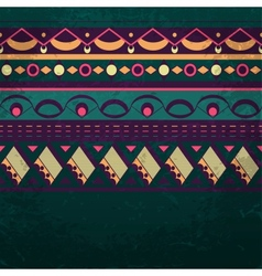Seamless ethnic background vector image