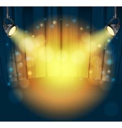 light spots vector image