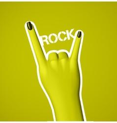 Rock Music vector image vector image